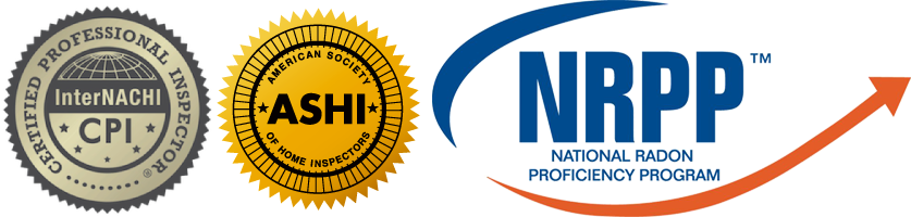 InterNACHI CPI, ASHI Member, National Radon Proficiency Program Inspector
